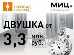 ЖК «Новоград Павлино» Успей купить «квартиру недели»!